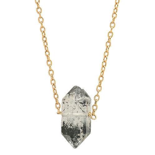 Single Herkimer Diamond Necklace