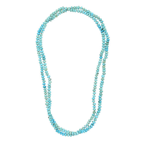 Long Turquoise Beads