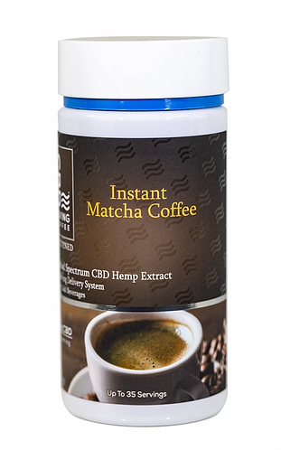 CBD Living Instant Matcha Coffee