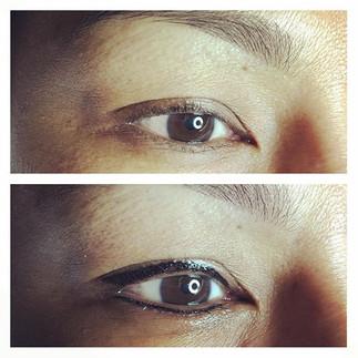 #permanenteyeliner #permanentmakeup #eye