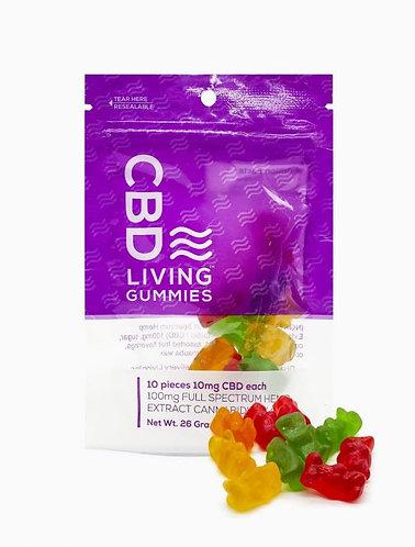 CBD Living Gummies Bag 100mg