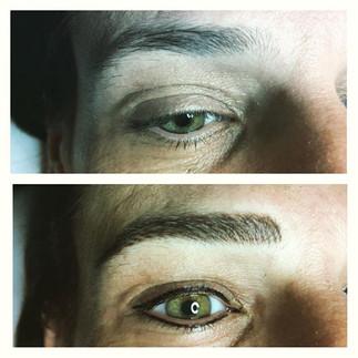 #eyeliner #eyebrows #microstroking #perm