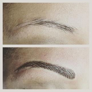 #permanentmakeup #eyebrows