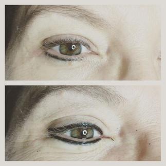 #permanentmakeup #eyeliner #permanenteye