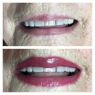 #permanentlips #lipstain #permanentmakeu