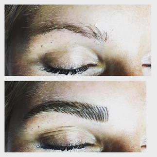 #microblading #microstroking #eyebrows #