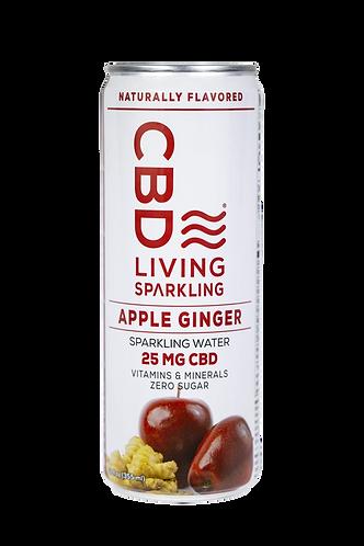 CBD Living Sparkling Water 1-12