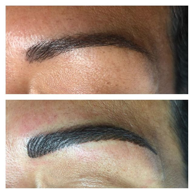6 week touchup appointment #feathertouch