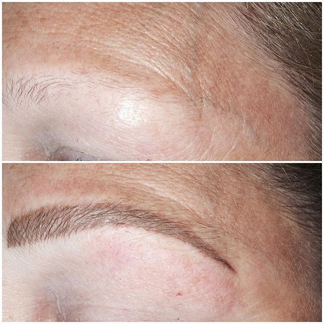 #permanentcosmetics #eyebrows #permanent