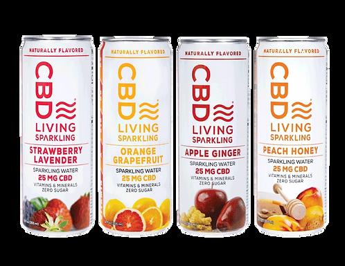 CBD Living Sparkling Water Sample Pack