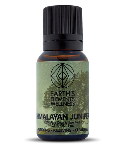 Earths Elements Organic Himalayan Juniper Essential Oil