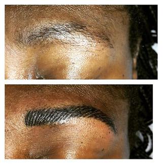 #permanentmakeup #microbrows