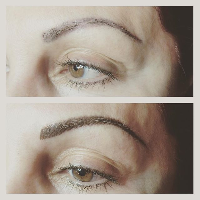 #permanentmakeup #eyebrows #microblading