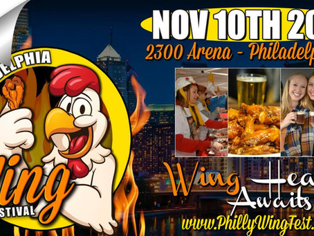 Catch Us At Philly Wing Fest!