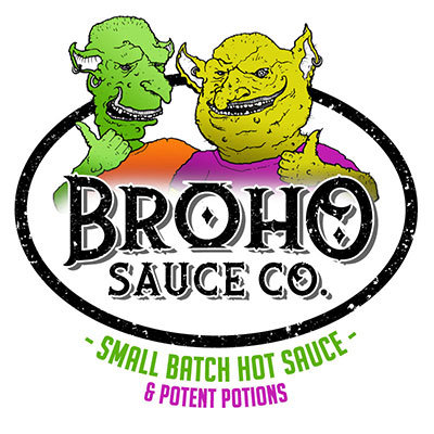 "Broho Sauce Co. 3"" Sticker"