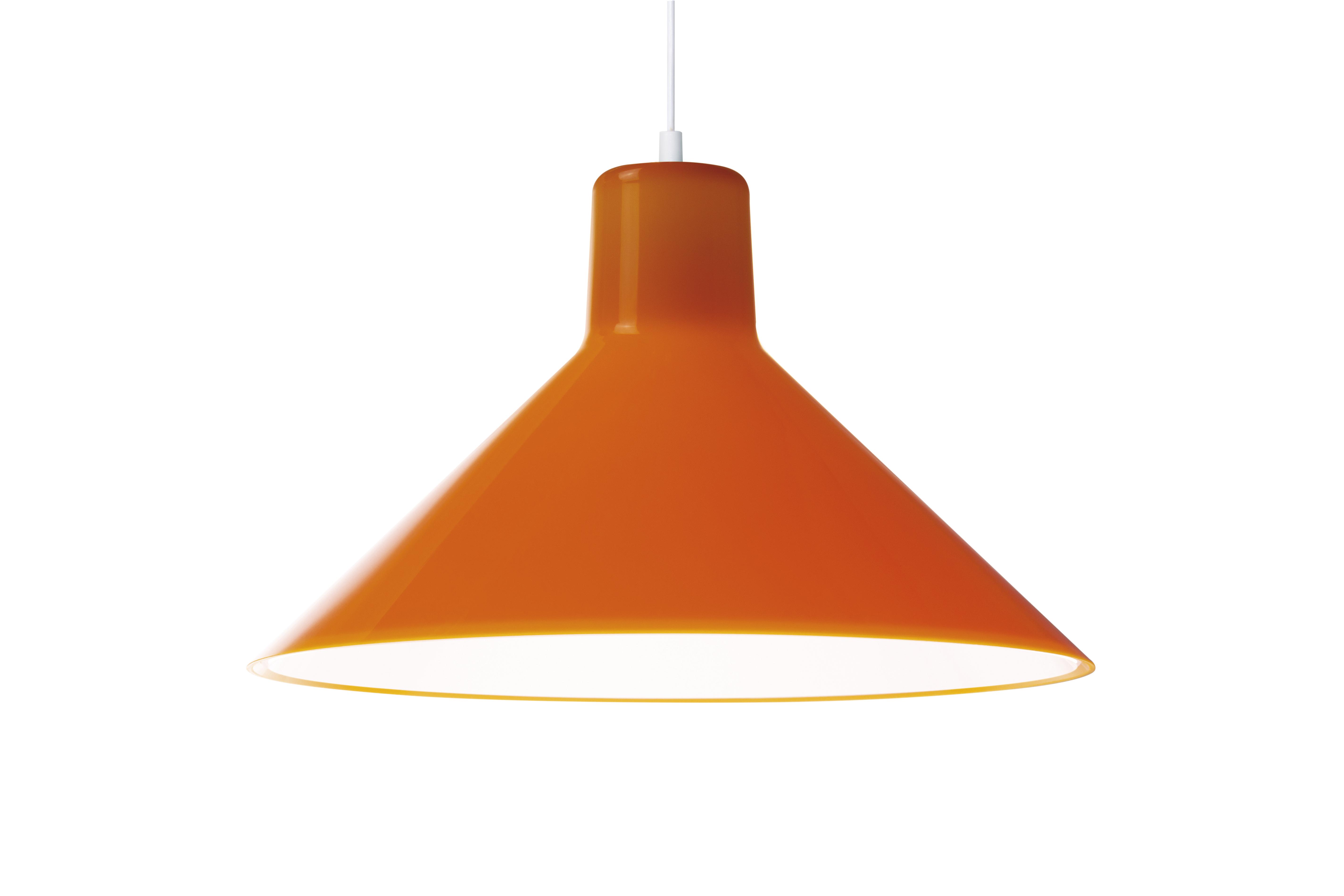 Eero Aarnio Kotivalo design-valaisin oranssi