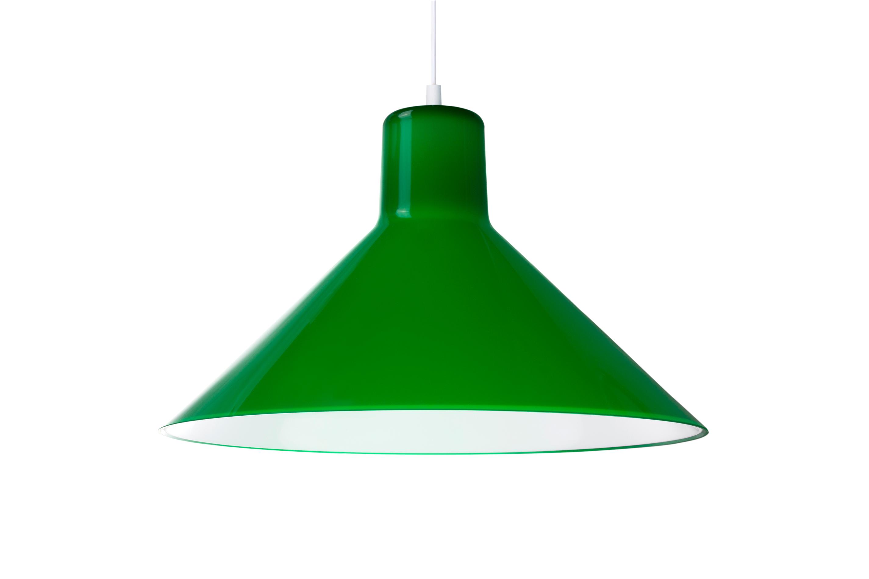 Eero Aarnio Kotivalo design-valaisin vihreä