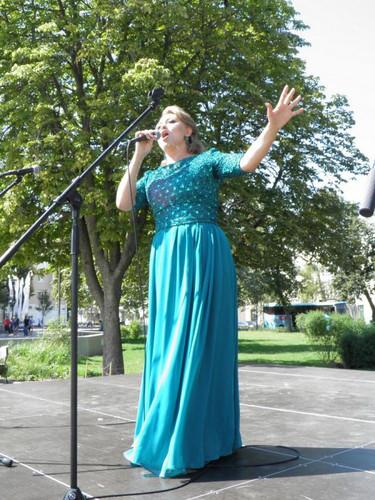 """Светлана Шкарупина  солистка МКУК """"РДК"""" г. Семилуки"""