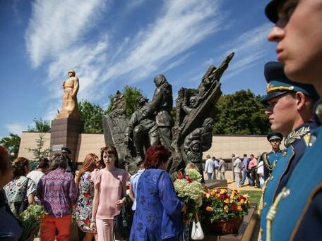 Открытие памятника Прасковьи Щёголевой
