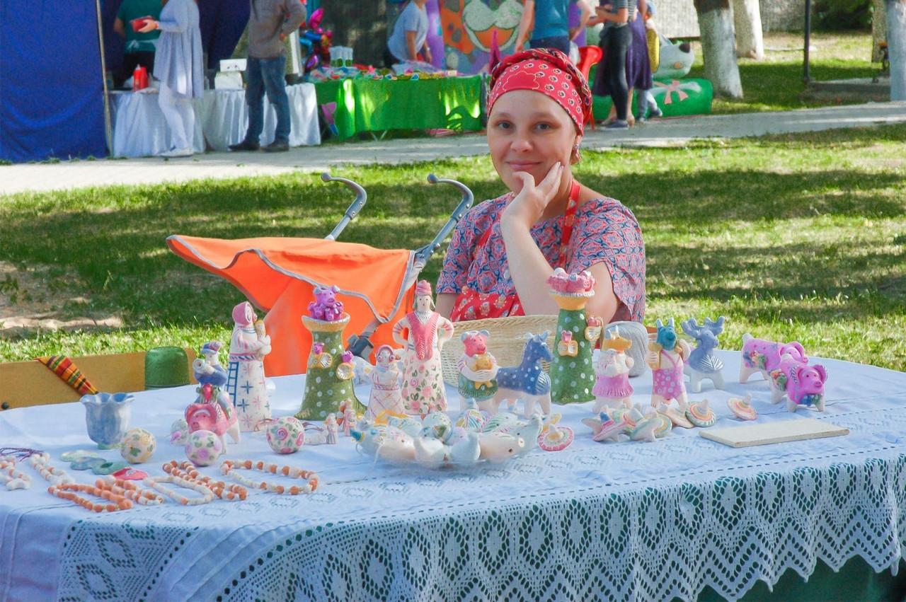 Елена Широкова - мастер по изготовлению глиняной игрушки