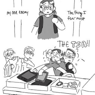 TSA trouble