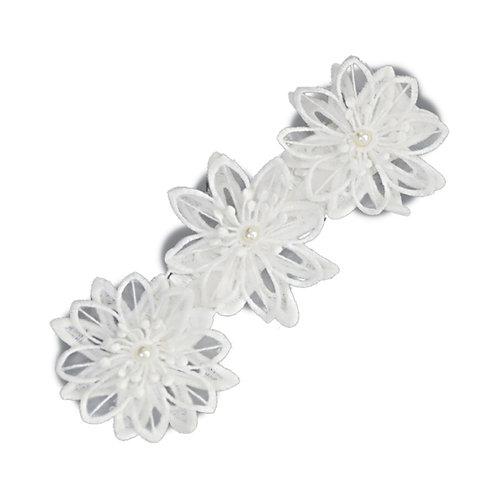 Triple Flower Soft Headband WS