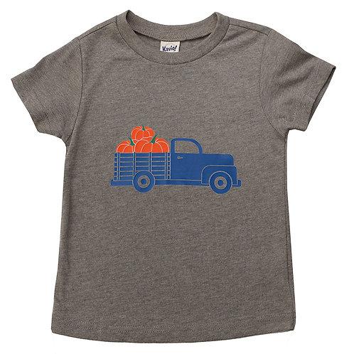 Pumpkin Truck Short Sleeve Tee