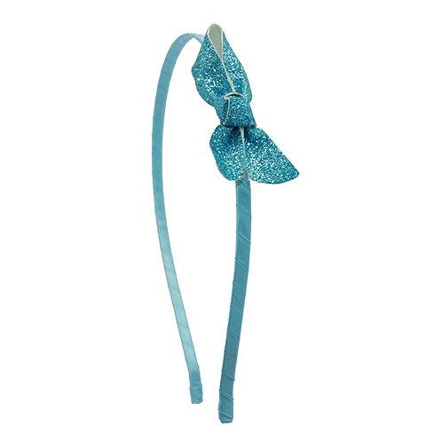 Petite Glitter Bow Headband