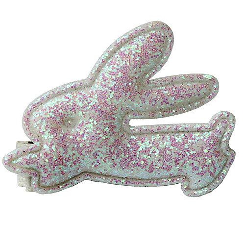 Glitter Bunny Clip WS