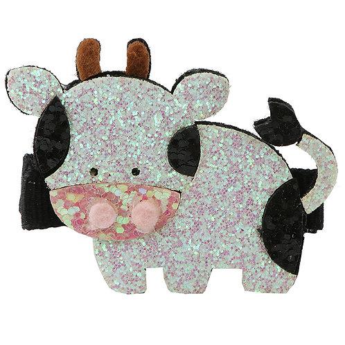 Glitter Cow Clip WS
