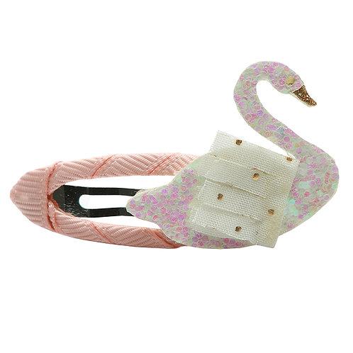 Swan Snap Clip
