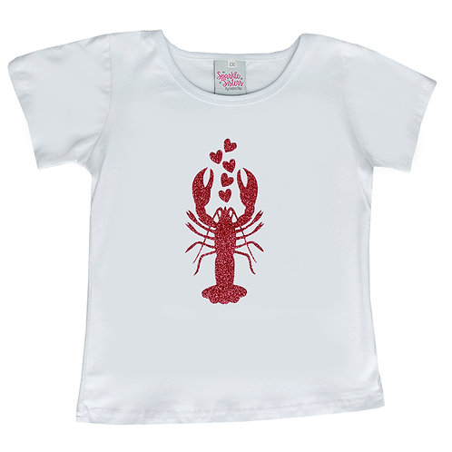 Hot Pink Lobster t shirt