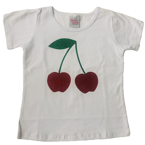 Cherry Short Sleeve Top WS