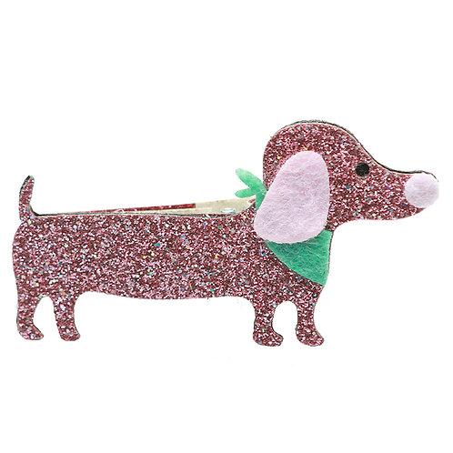 Glitter Dog Clip