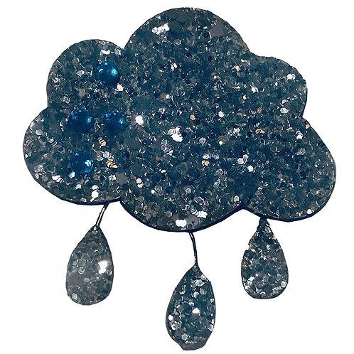 Glitter Cloud Clip - WS