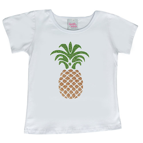 Glitter Pineapple Shirt WS