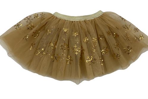 Gold Snowflake Tutu - WS