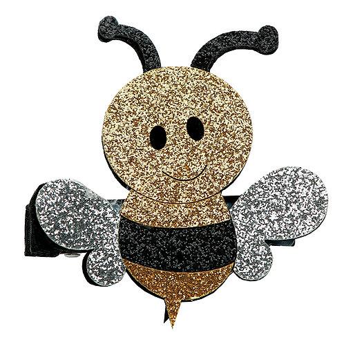 Glitter Bee Clip WS