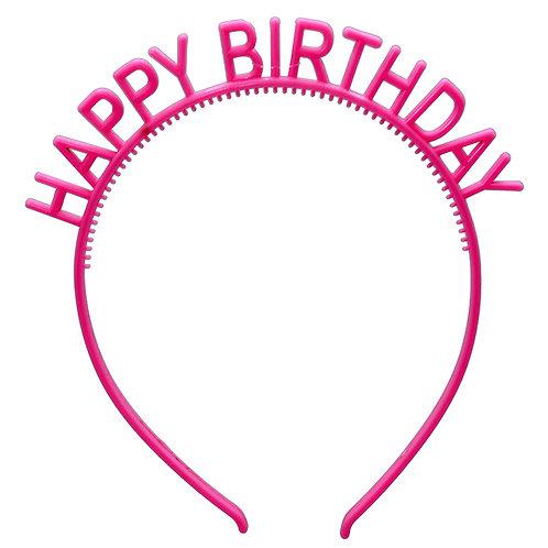 Happy Birthday Headband WS
