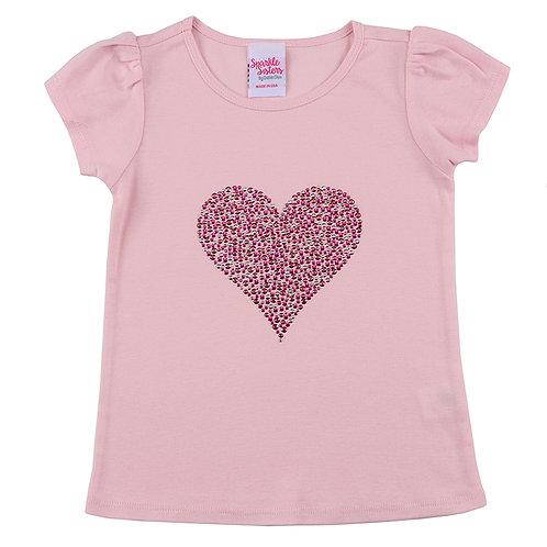 Studded Pink Heart