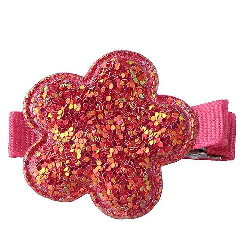 Puff Flower Clip WS