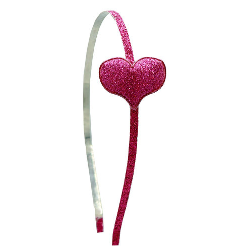 Sparkle Heart Headband WS