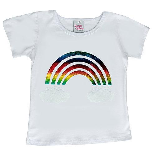 Metallic Rainbow T shirt WS