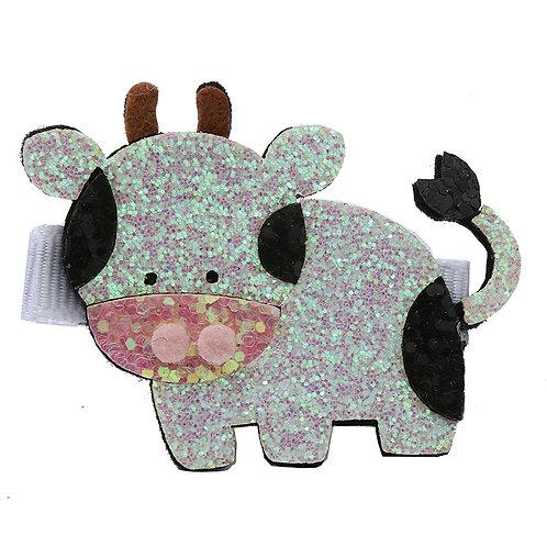 Glitter Cow Clip