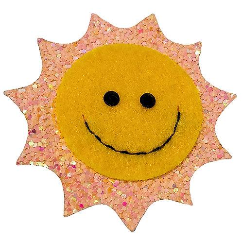 Glitter Sun Clip WS