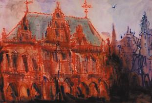 Красная ратуша в Бремене