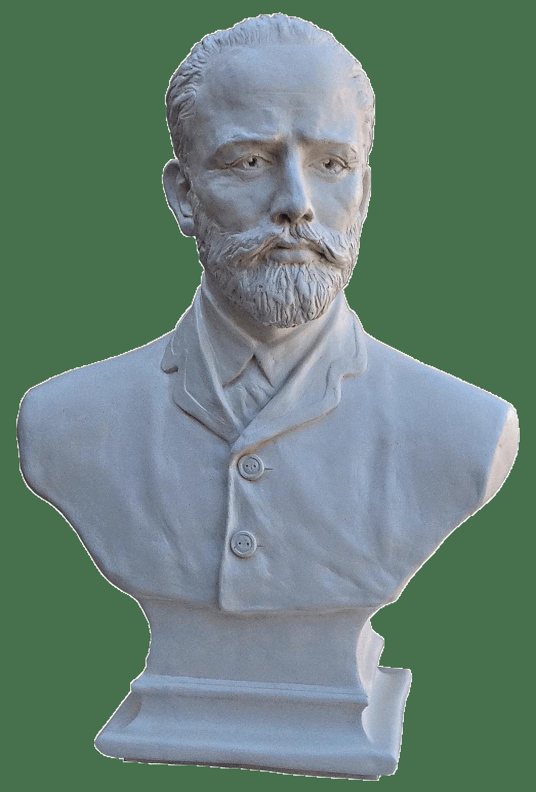 Бюст Пётр Ильич Чайковский