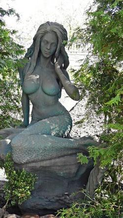 Русалка. Скульптура