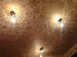 Роспись потолка в восточном стиле