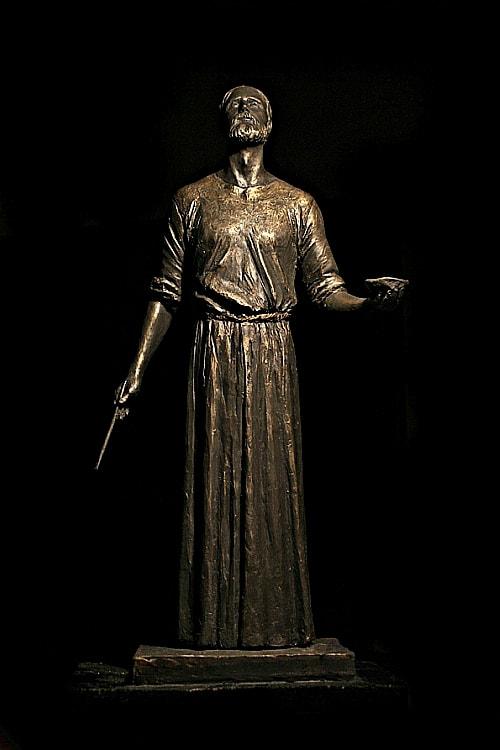 Андрей Рублёв. Скульптура